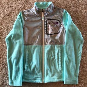 The North Face Girls Full ZIP-up Fleece Jacket